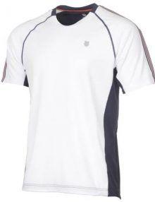 Camiseta K-Swiss Heritage Blanco