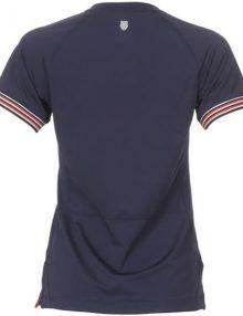 Camiseta K-Swiss Heritage Mujer Azul
