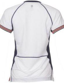 Camiseta K-Swiss Heritage Mujer Blanco