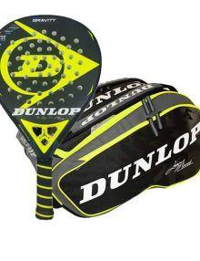 Dunlop Pala Gravity + Paletero Elite Juani Mieres