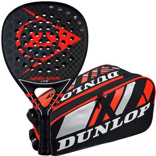 Pala Dunlop Aero Star Lite + Paletero