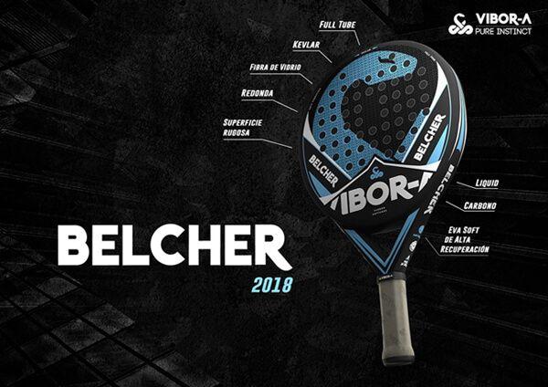Pala Vibora Belcher 2018 Prestaciones
