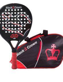 Black Crown Pala Asia + Paletero Rojo