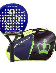 Black Crown Pala Puma + Paletero Marino