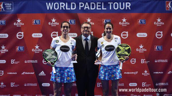 Campeonas Lucía Sainz y Gemma Triay Catalunya Master 2018