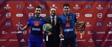 Sanyo Gutierrez y Maxi Sánchez campeones Catalunya Master 2018