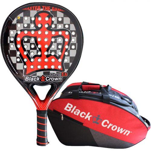 Pala Black Crown Piton 8.0 + Paletero