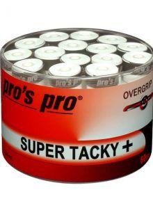 Tambor Overgrips Pros Pro Super Tacky Blancos