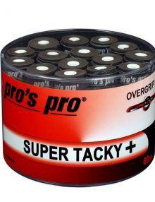 Tambor Overgrips Pro´s Pro Super Tacky Negros