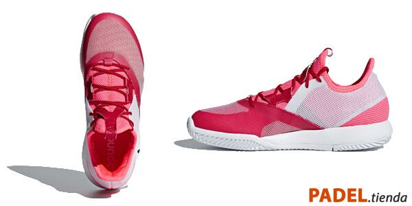 Adidas Adizero Defiant Bounce Woman Roja