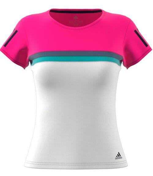 Adidas Camiseta Club Mujer Rosa