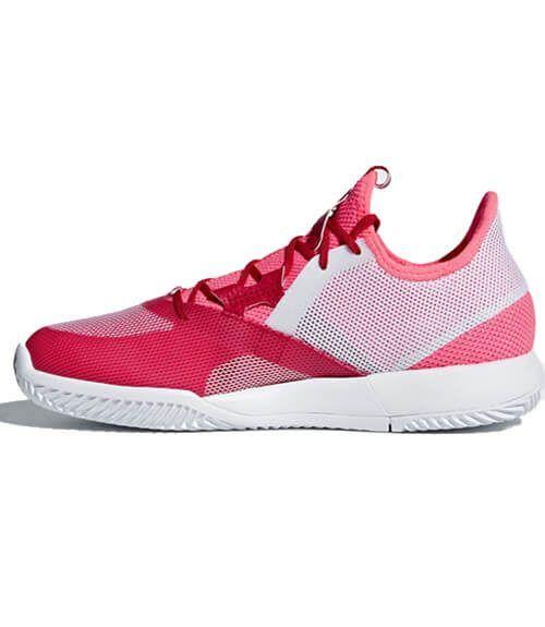 Adizero Defiant Bounce Woman Roja Zapatillas Adidas