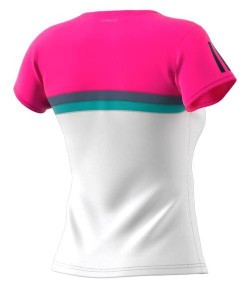 Camiseta Adidas Club Mujer Rosa 2018