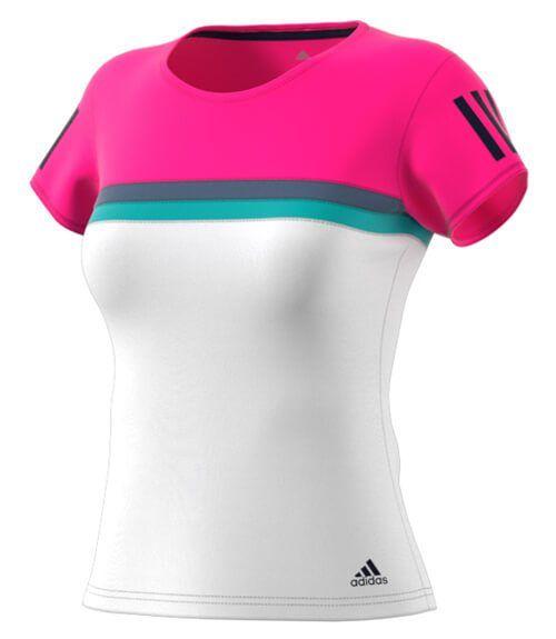 Club Pádel Camiseta Tee Rosa De Mujer Para Adidas mOwnv80N