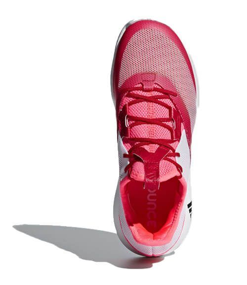 Zapatillas Adidas Adizero Defiant Bounce Woman Red 2018