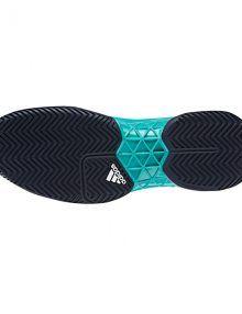 Suela clay zapatillas Adidas Barricade 2018 verdes