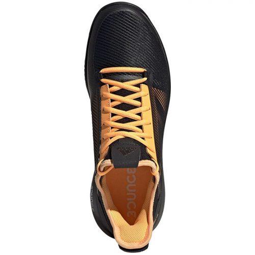 Zapatillas Adidas Adizero Defiant Bounce 2 Negras-Naranjas 19