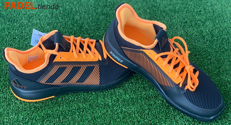 Zapatillas Adidas Adizero Defiant Naranjas
