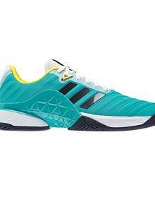 Zapatillas Adidas Barricade 2018 Hi-res verdes