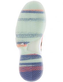 Zapatillas Adidas Courtjam Bounce Naranjas Suela