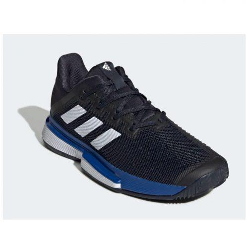 Zapatillas Adidas Solematch Bounce Azules-Negras 20