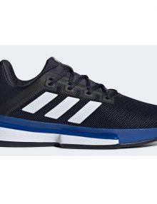 Zapatillas Adidas Solematch Bounce Azules-Negras 2020