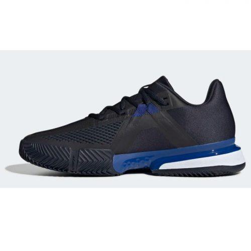 Zapatillas Adidas Solematch Bounce Azules-Negras