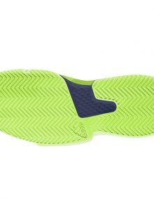 Zapatillas Adidas Solematch Bounce Verde-Azul Suela