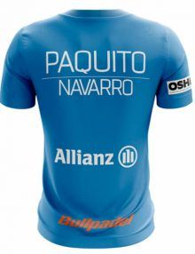 Camiseta Bullpadel Ternate Paquito Navarro