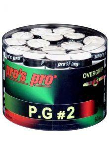 Tambor Overgrips Pro´s Pro Perforados Blancos