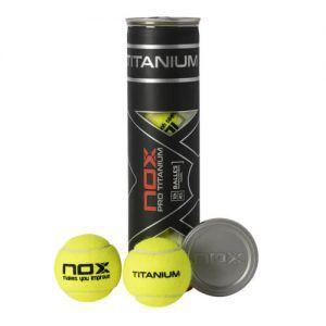 Bote 4 Pelotas Nox Titanium