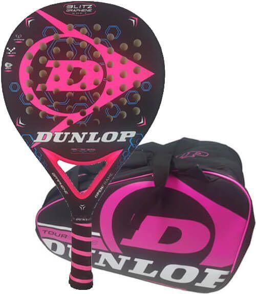 Pala Blitz Graphene Soft + Paletero Dunlop