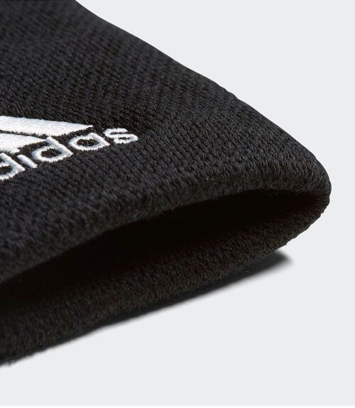 Adidas Muñequera Negra Grande