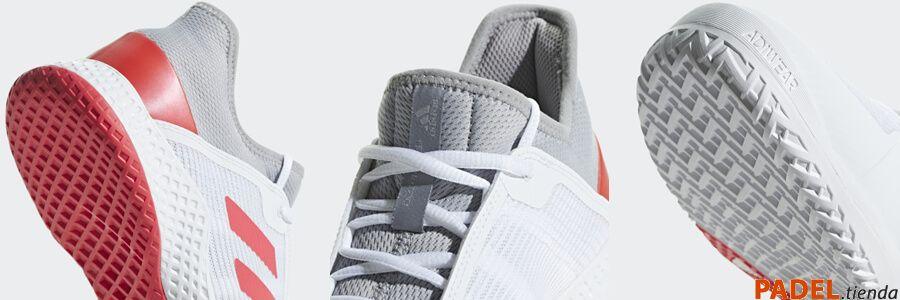 Detalle Adidas Zapatillas Adizero Club Blanca
