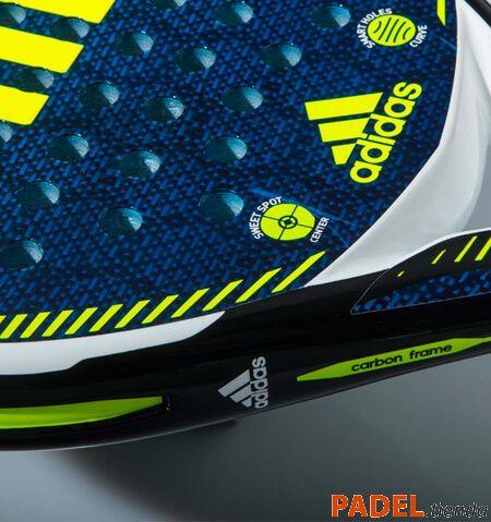 Detalle Pala Adidas Carbon Ctrl