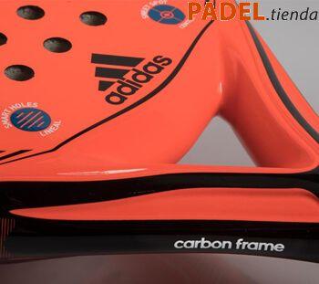 Detalle Pala Adidas Supernova Carbon Ctrl