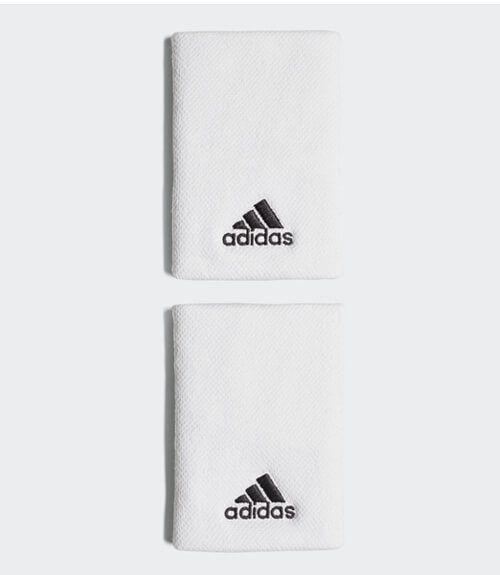 Muñequera Adidas Blanca Grande