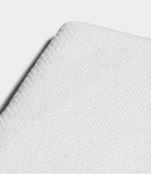 Muñequera Adidas Blanca Grande Detalle