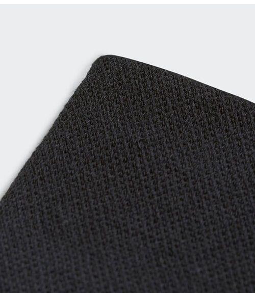Muñequera Adidas Negra Grande Detalle