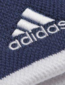 Muñequeras Adidas Azules-Blancas Detalle