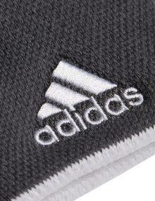 Muñequera Adidas Gris Grande Detalle