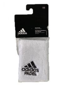 Muñequeras Adidas Padel Blanca
