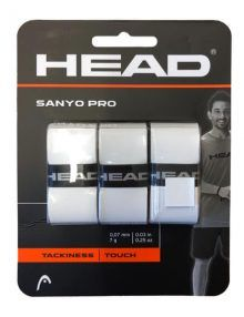 Pack 3 Overgrips Head Sanyo Pro