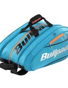 Paletero Bullpadel Mid Capacity Azul Real