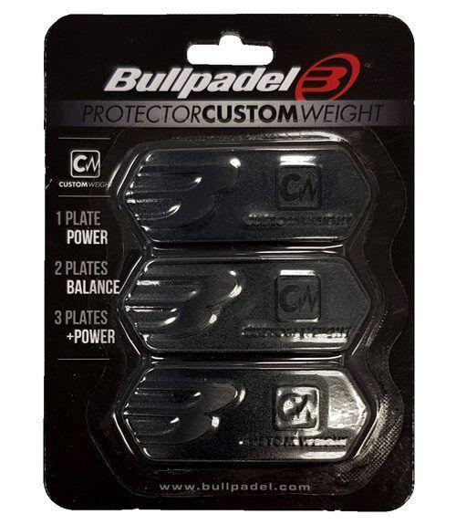Protector Custom Weight Bullpadel Negro