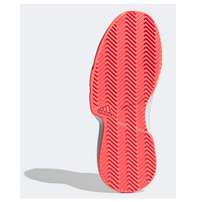 adidas court mujer rojo