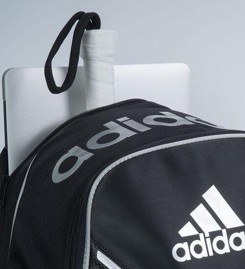 Detalle Mochila Adidas Adipower Silver