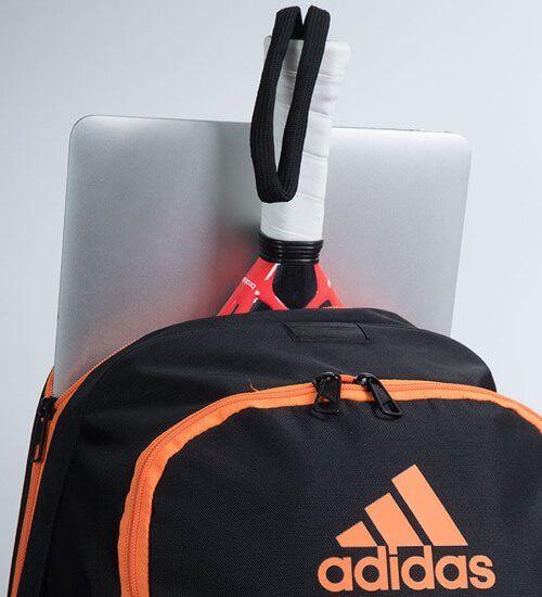 Detalle Mochila Adidas Barricade Orange