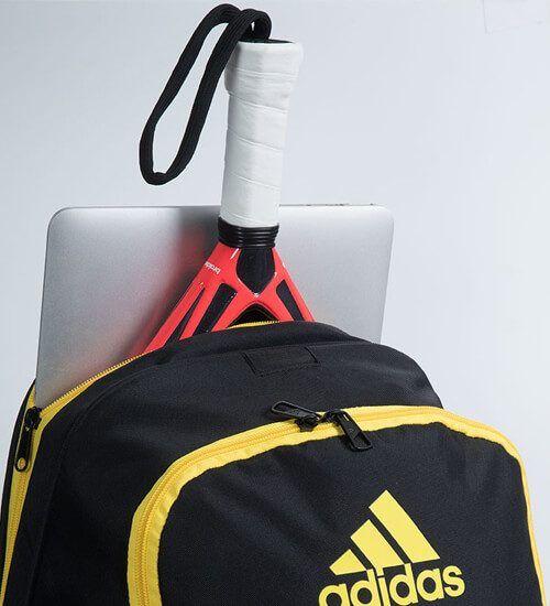 Detalle Mochila Adidas Barricade Yellow