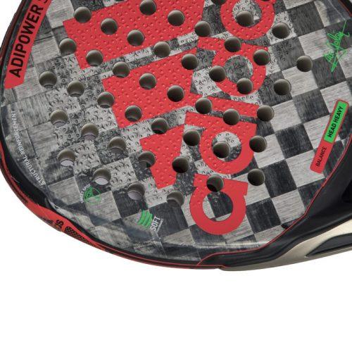 Pala Adidas Adipower Soft Detalle